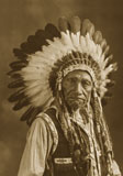 This photograph is believed to be Ute Chief Dick Charley.