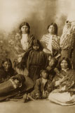 Ute women were responsible for making and erecting their tepees, tanning hides, drying food, and making clothing.