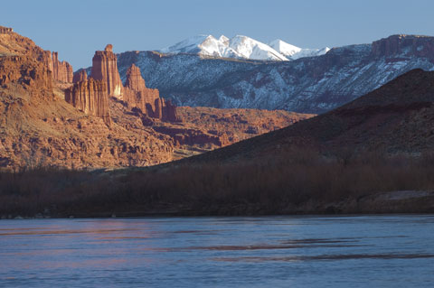 Fisher Towers near Moab