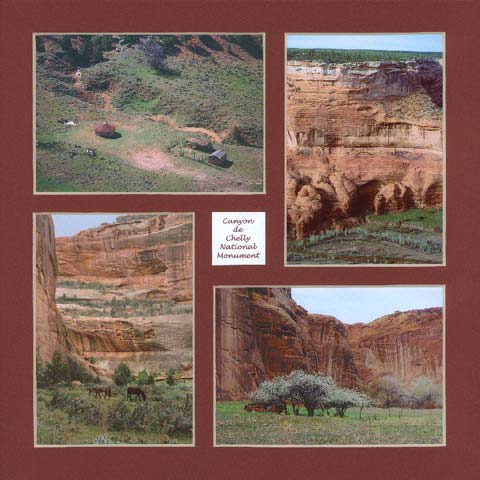 4 photos of life in Canyon de Chelly National Monument